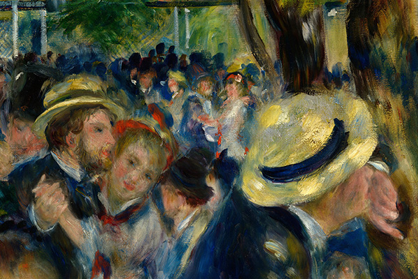 Tanz im Le Moulin de la Galette Detailausschnitt 1