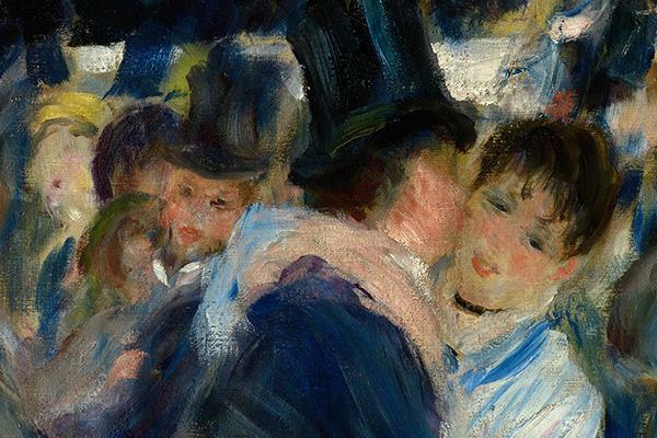Tanz im Le Moulin de la Galette Detailausschnitt 2