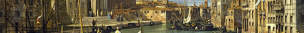 The Entrance to the Grand Canal, Venice (Giovanni Antonio Canal)