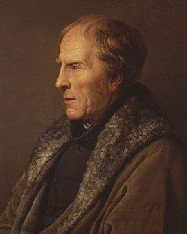 Portrait von Caspar David Friedrich